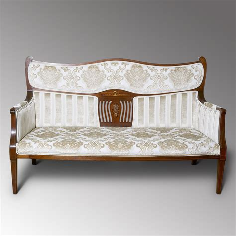 Two Seater Settee by Edwardian Two Seater Settee Antiques Atlas