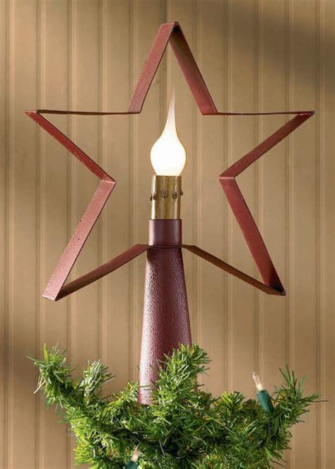Star Tree Topper Lamp