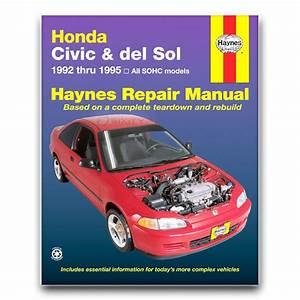 Haynes Repair Manual 42024 For Honda Civic 92