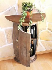 Fass Als Tisch : wandtisch tisch weinfass 0373 r braun schrank weinregal fass 73 cm beistelltisch ebay ~ Sanjose-hotels-ca.com Haus und Dekorationen