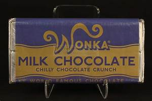 The Prop Gallery   Vintage Wonka bar - Chilly Chocolate Crunch