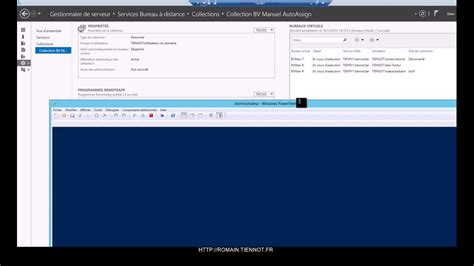 windows bureau virtuel windows server 2012 desktop infrastructure
