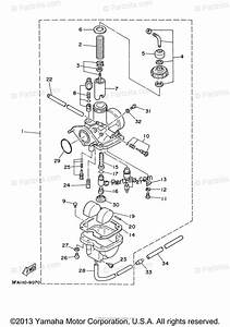 Yamaha Atv 2006 Oem Parts Diagram For Carburetor