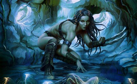 women, Warrior, Artwork, Claws, Fantasy art Wallpapers HD ...