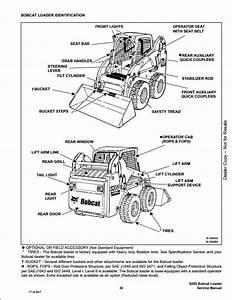Bobcat S205 Turbo High Flow Skid Steer Loader Service Repair Workshop Manual 528411001