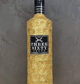 vodka glitzer  sixty flaschen einzigartige