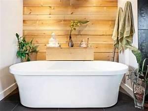 papier peint salle de bain zen kirafes With papier peint salle de bain zen