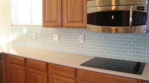 christines favorite  glass tile backsplash