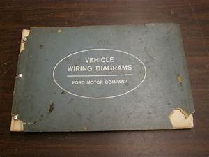Oem Ford 1963 Wiring Diagram Book Galaxie Fairlane Comet