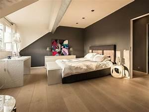 schlafzimmer ideen wandgestaltung With wandgestaltung schlafzimmer dachschräge