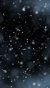 Falling Snow Wallpaper - iPhone Wallpapers