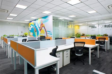 contemporary small kitchen designs small modern office design of iifl offices pune zyeta