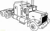 Coloring Pages Truck Tanker Trucks Printable Sheet Getcolorings Fresh sketch template
