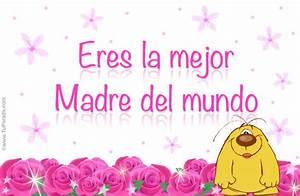 Tarjeta día de la madre Tarjeta para madres, postal animada para el día de las madres, tarjeta