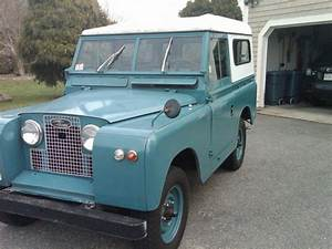 1962 Land Rover Series Ii - Information And Photos