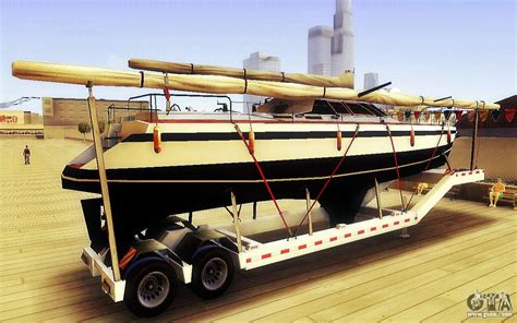 Gta 5 Big Boat gta v big boat trailer for gta san andreas