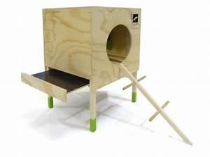 Nid Pour Poulailler : poulailler loft 2 poules du designer francais pousse cr ative ~ Premium-room.com Idées de Décoration