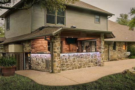 rustic outdoor kitchen addition medford design build