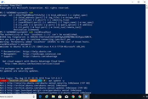 Click the download link to download git. How To Use Windows 10 PowerShell To Access Ubuntu Bash
