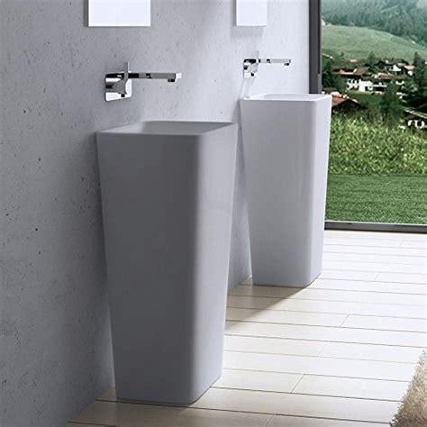 lavabo vasque 201 vier sur pied colonne fonte min 201 rale colossum 31 bricolage pas cher