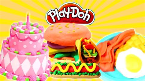 play doh cuisine cooking play doh food for