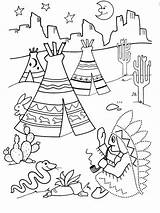 Coloring Worksheets Pages Printable Indian Preschool Connect Dots Schrijfpatronen Preschoolers Children Crafts Indianen Activities Thema Books Kleuters American Native Theme sketch template