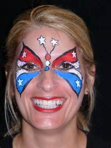 Patriotic Face Painting Ideas