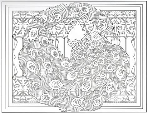 Peacock Coloring Page 27/31