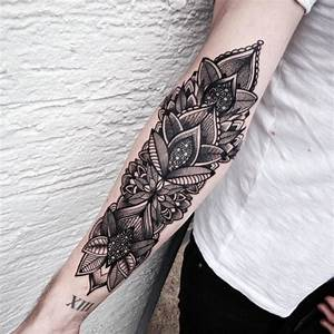 Mandala Tattoo Unterarm : 163 tatuajes de mandalas para mujeres y hombres mandalas ~ Frokenaadalensverden.com Haus und Dekorationen