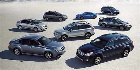"""Subaru Models Score Top Five Spots Of Kbb's """"top 10"""