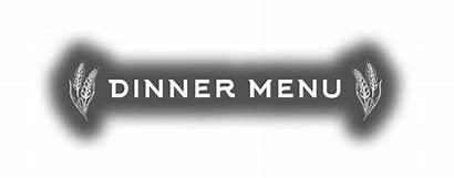 Menu Dinner Text Restaurant Main Lunch Harvest