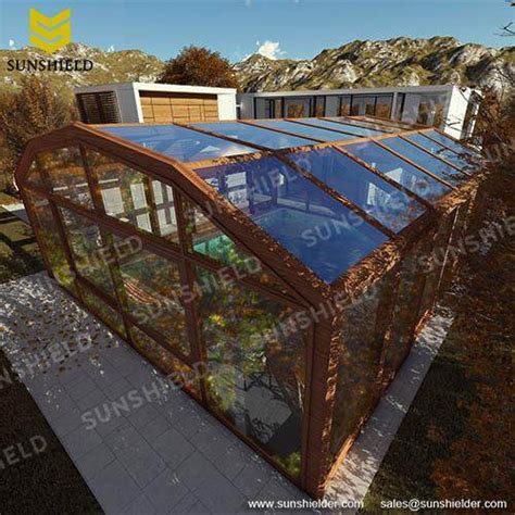 sunhouse screen room sunshield retractable enclosure