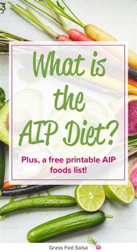 aip diet aka  autoimmune protocol