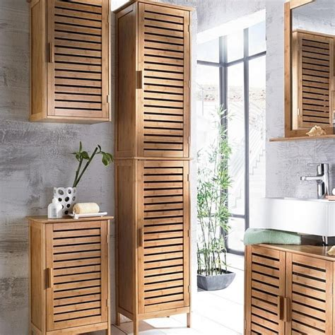 badmoebel aus holz bambus ist  besten