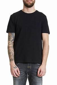 Tee Shirt Moulant Homme : tee shirt redskins kik noir homme sojeans le meilleur du denim et de la mode ~ Dallasstarsshop.com Idées de Décoration