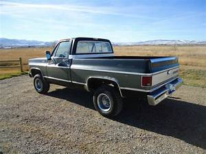 1979 Chevy K10 Silverado Short Box Swb 4x4 One Owner Decent Western Truck Nr For Sale In Helena