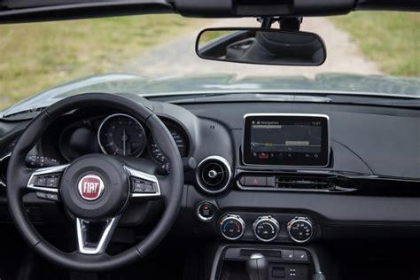 Fiat 124 Spider 2016 Fahrbericht by Fiat 124 Spider Sushi Al Arrabiata Rad Ab