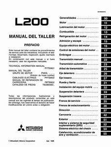 Descargar Manual De Taller Mitsubishi L200    Zofti