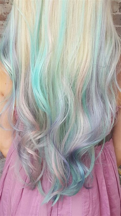 Best 25 Teal Hair Highlights Ideas On Pinterest Colored
