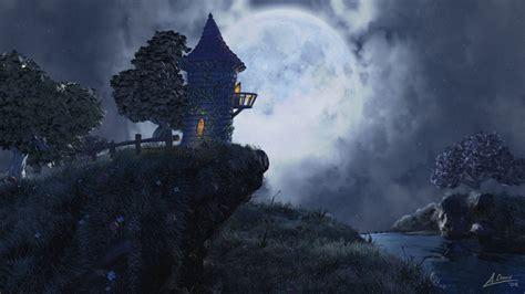 moon fantasy  walldevil