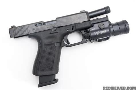 surefire pistol light surefire xh35 1 000 lumens on your pistol recoil