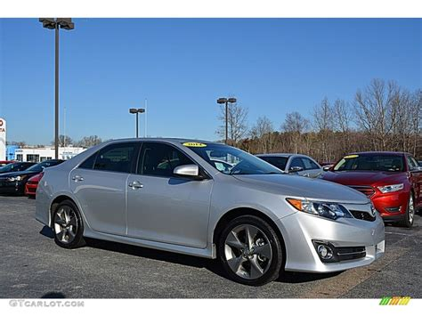 2014 Toyota Camry V6 by 2014 Classic Silver Metallic Toyota Camry Se V6 117705750