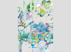 青系イラスト iPhone壁紙ギャラリー