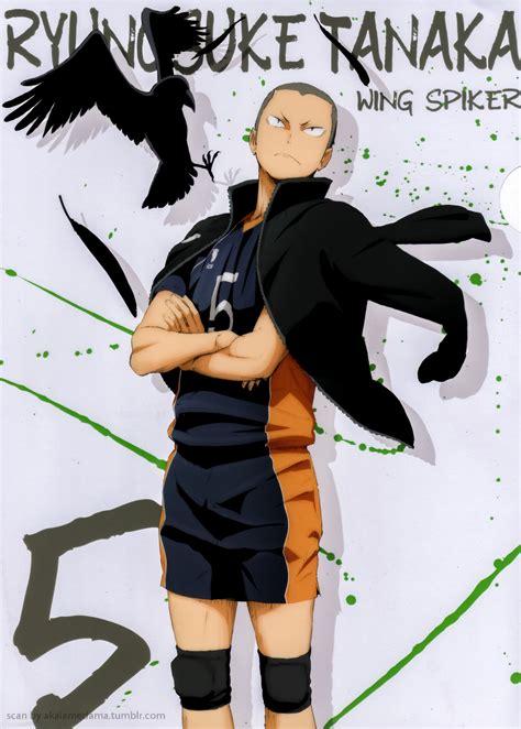 ryunoske tanaka iz anime voleybol  foto
