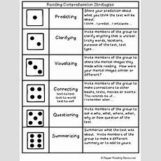 Reading Comprehension Strategies Dice Game  Read And Roll Tpt