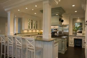 kitchen islands with posts 21st century bungalow traditional kitchen other by shane d inman