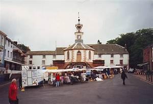File Brampton market place, Cumbria geograph org uk