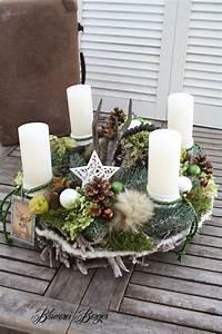 Künstlicher Adventskranz Dekoriert : adventskranz waldweihnacht dawanda weihnachten und ~ Michelbontemps.com Haus und Dekorationen
