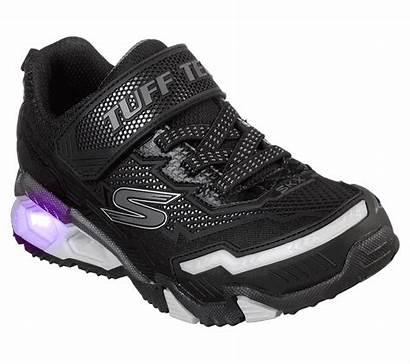 Lights Hydro Skechers Shoes Blk