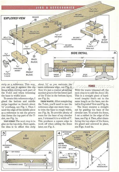 diy circular  guide woodarchivist